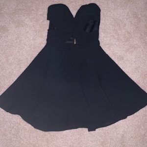 Love Culture sexy black cut out dress